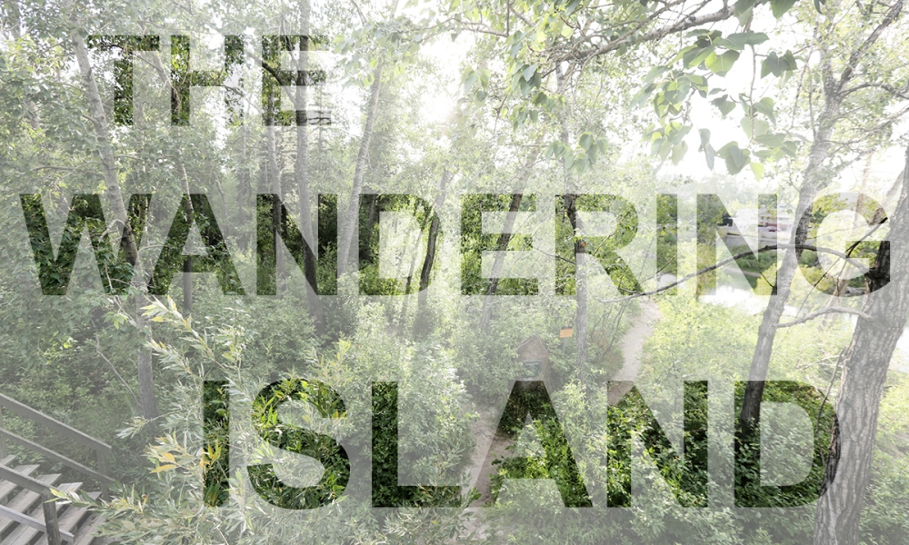 Wandering Island Postcard Front